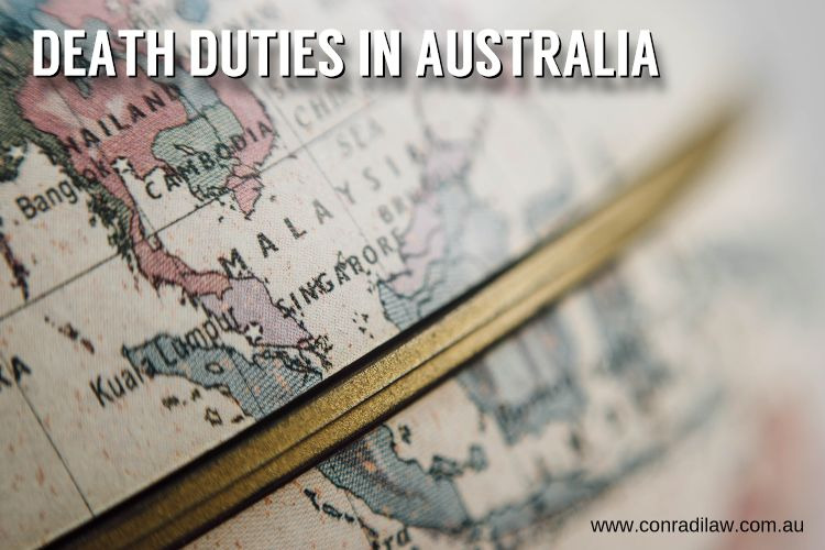 Death Duties in Australia