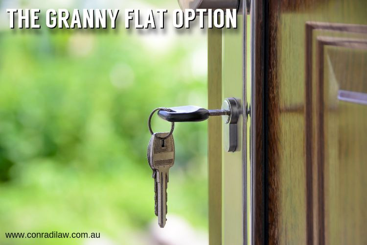 The Granny Flat Option